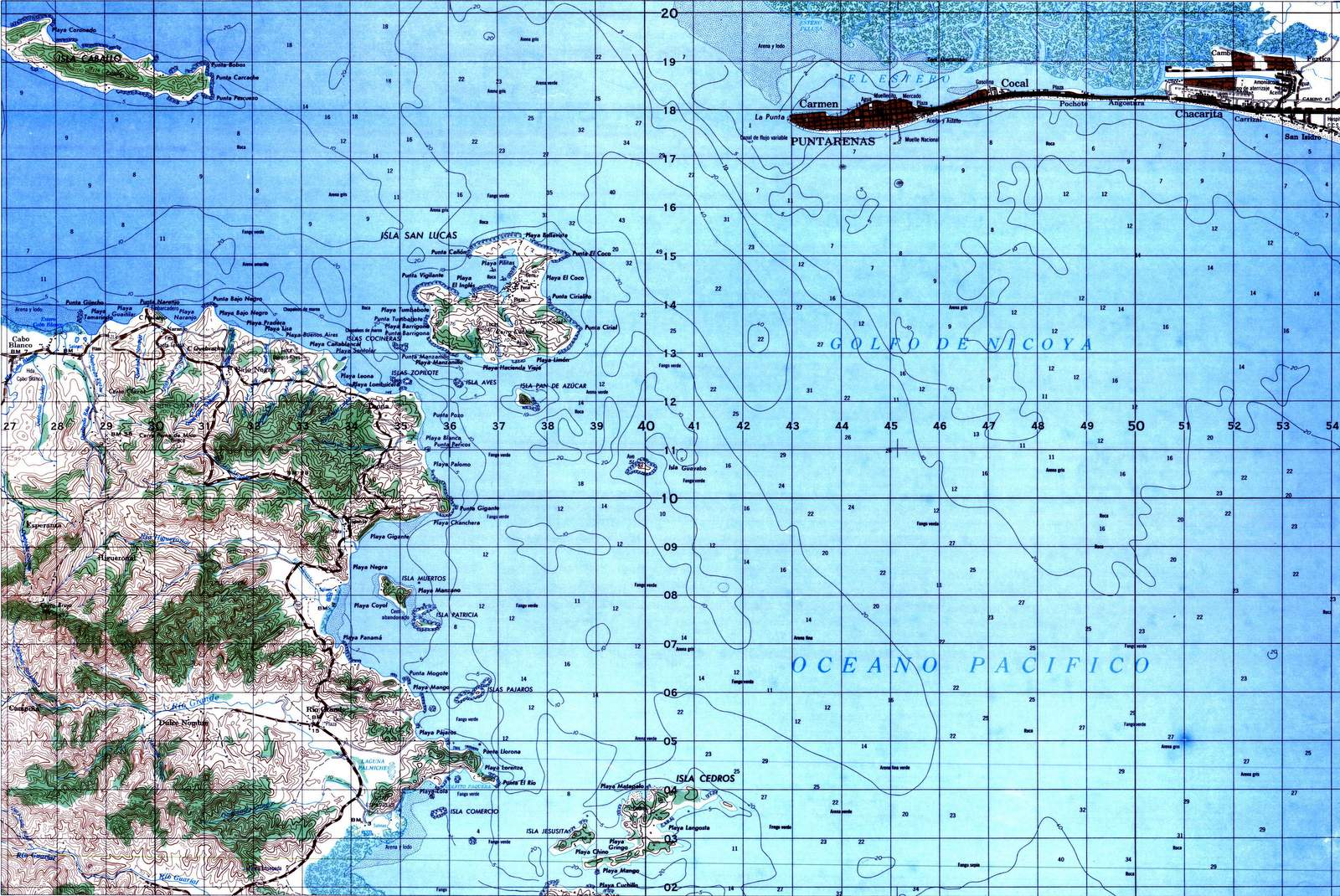 instituto geografico de costa rica: