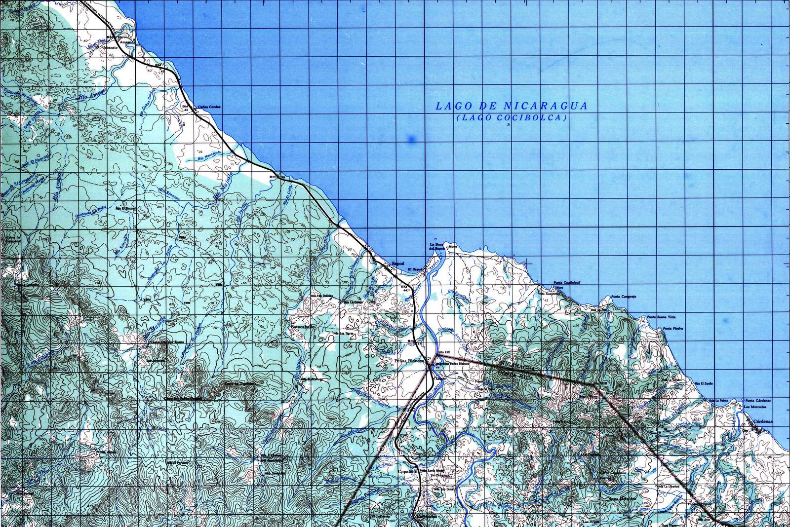 Caribbean Topographic Map.Topographical Map Sheets Available From Ign Instituto Geografico
