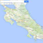 Search Locations on Costa Rica Map