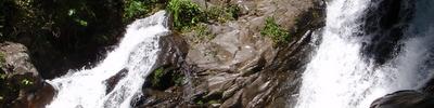 Dominical waterfall