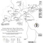 Map of Bijagua - gateway to Tenorio national park, Celeste waterfall & Miravalles