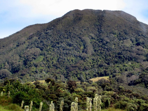 Cone of Volcán Turrialba