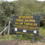 Entrance is free at Volcán Turrialba National Park