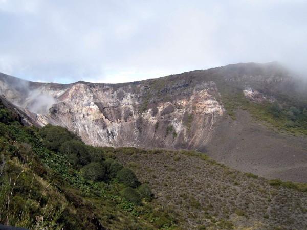 sendero mirador Turrialba volcano