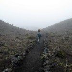 Main crater trail, Volcán Turrialba National Park