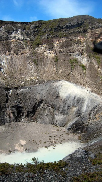 Center crater, Volcán Turrialba National Park