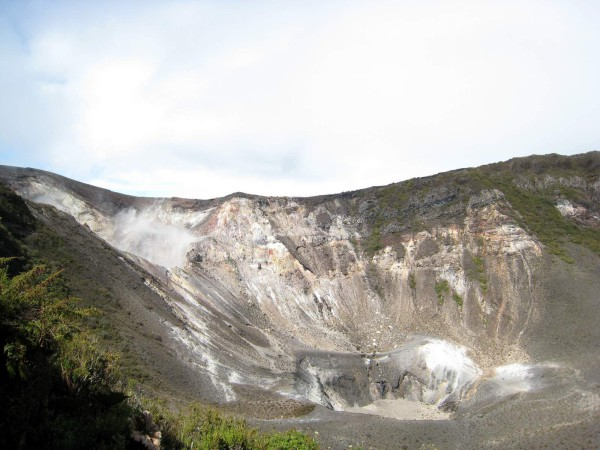 central crater is the largest