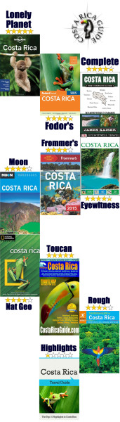 Costa Rica Guidebook reviews and recommendations