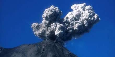 Arenal Ash Cloud