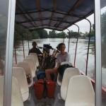 Bikes in a boat Cano Negro