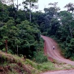 """We were promised the road out of Caño Negro village towards Bijagua was """"totalamente plano""""…If this is absolutely flat I'd hate to see a hill…"""