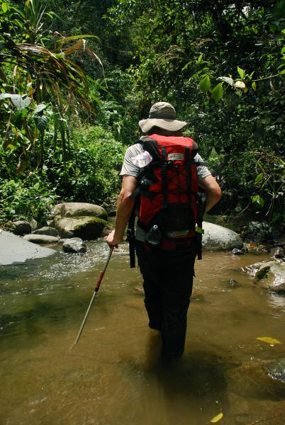 Stream as trail