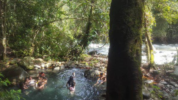 Fila Tigre Hot Spring, Costa Rica