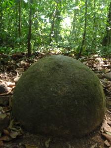 Stone sphere, Isla del Cano