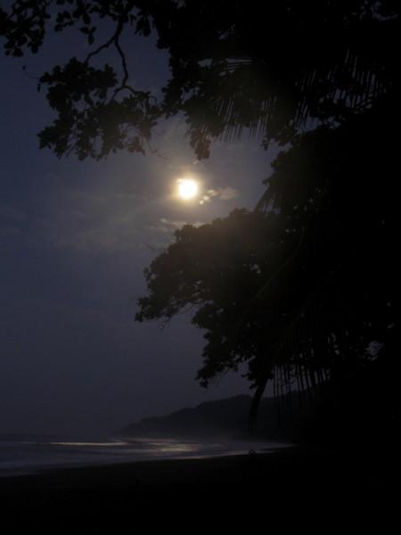 Moon over La Leona