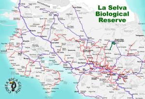 La Selva Biological Reserve Location