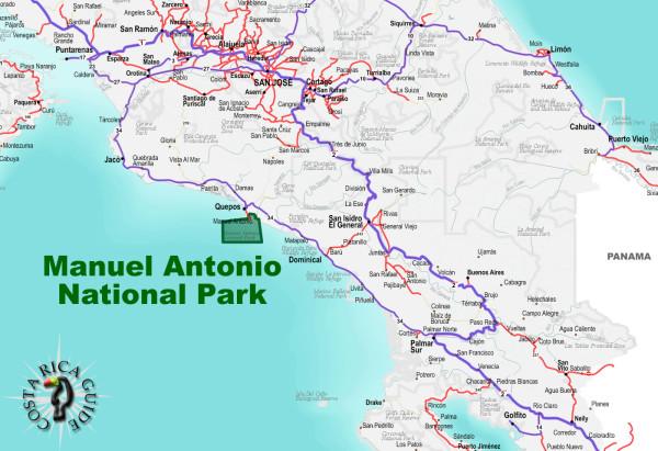 Manuel Antonio National Park Location
