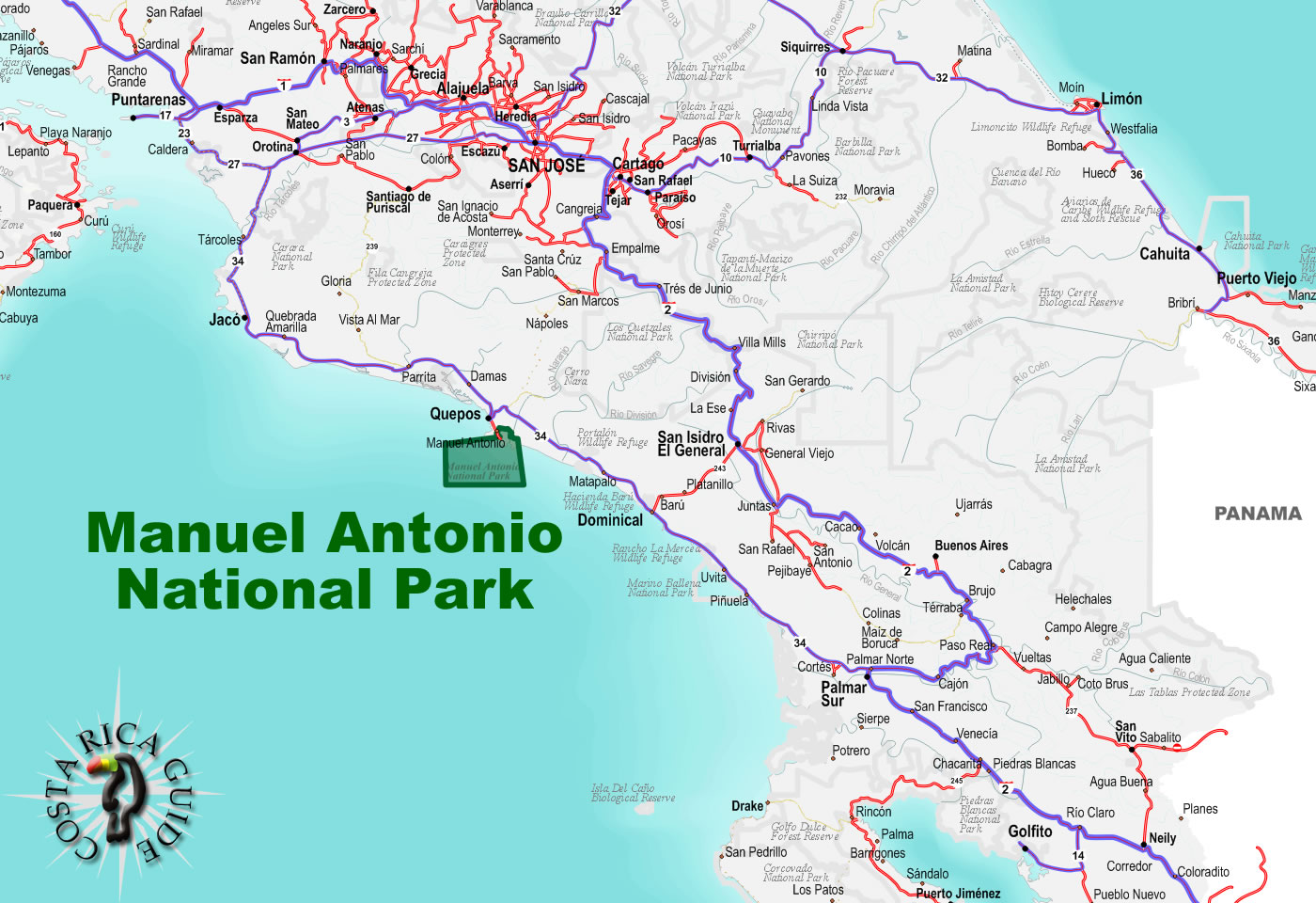 Manuel Antonio National Park Costa Rica