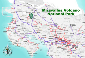 Miravalles Volcano National Park Location