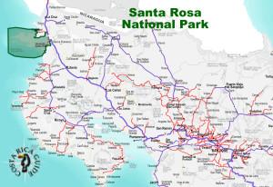 Santa Rosa National Park Location