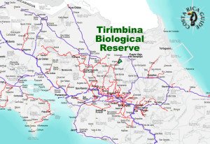 Tirimbina Biological Reserve Location