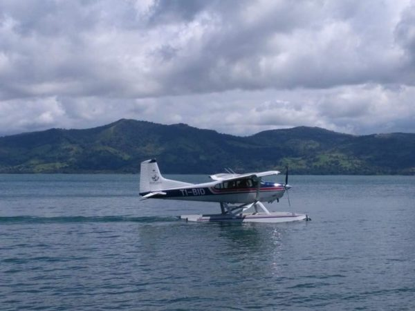 Float Plane Lake Arenal