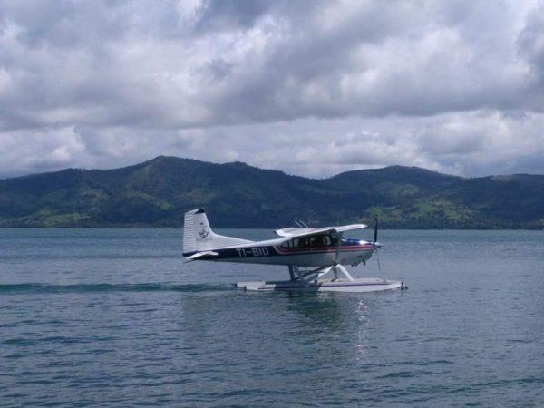 Float Plane Lake Arenal