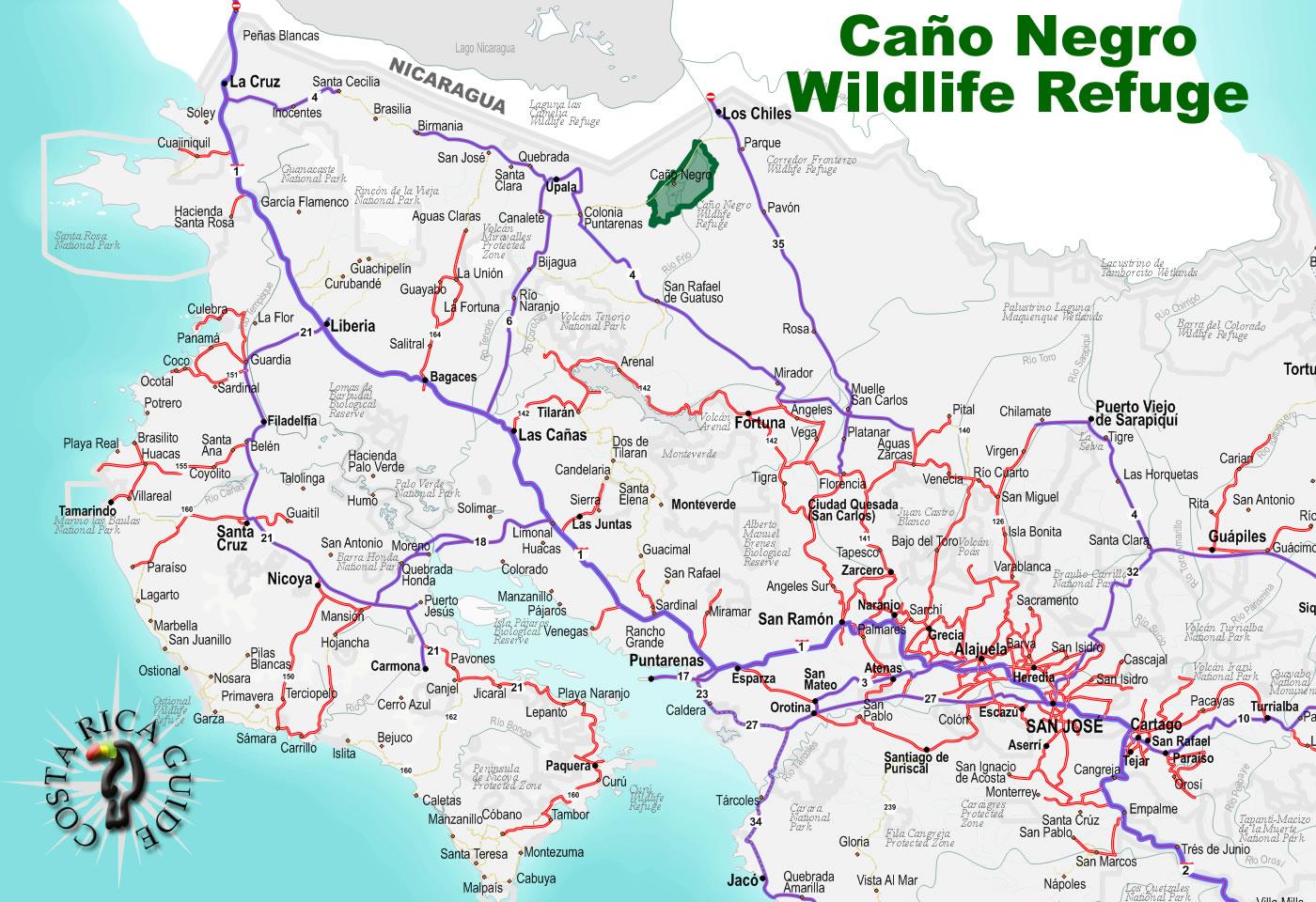 Ca 241 O Negro Wetlands And R 237 O Fr 237 O National Wildlife Refuge