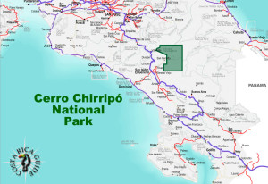 Cerro Chirripo National Park Location