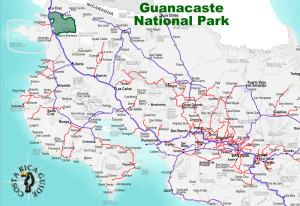 Guanacaste National Park Location