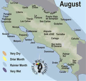 August - Best Time to Travel in Costa Rica?