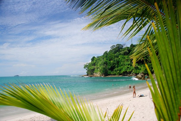 A beach at Manuel Antonio