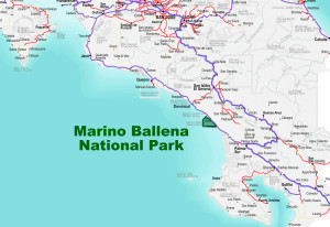 Marino Ballena National Park Location