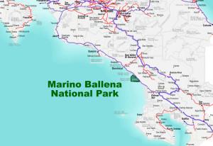 Marino Ballena National Park Location