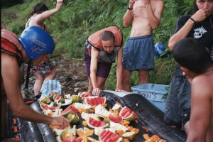 Great rafting snacks