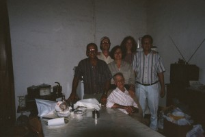 Left to right - Alfonzo, Ray, Mercedes, Sue, Climaco and papa in front