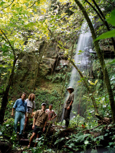 Miravalles Cowboy Waterfall