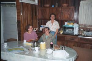 In Mercede's kitchen Heredia