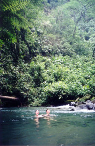 Swiming Hole Catarata La Fortuna