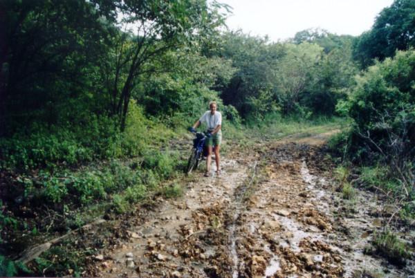 Palo Verde moutain bike mud bogging