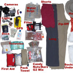 The Twenty Five Pound Packing List