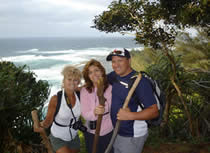 Sherry, Justin & Gretchen Pacific Trade Winds