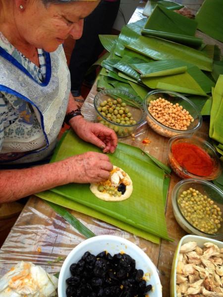Regional Tamale ingedients