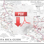 Click to download the PDF version of the Costa Rica map.