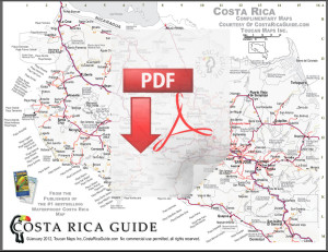 Costa rica free printable map download click for larger version click to download the pdf version of the costa rica map gumiabroncs Images