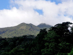 Peak of the number one crater of Tenorio