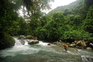 Crossing the Talmancas