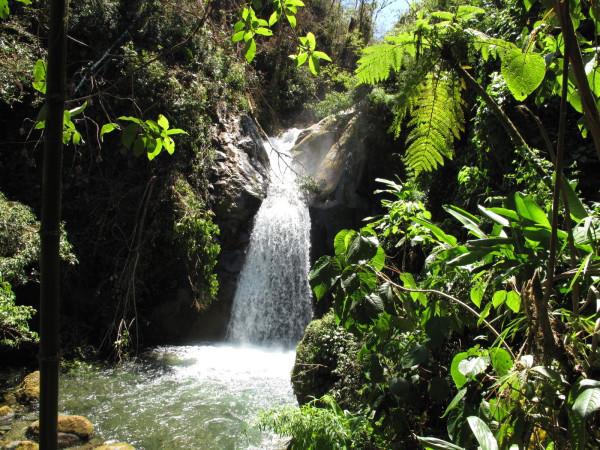 Upper Falls Rio Chirripo Pacifico