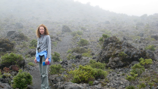 Main crater trail, Volcán Turrialba National Park - currently closed