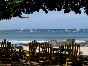 Beachfront Restaurant Tamarindo